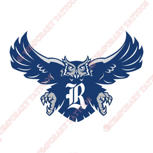 Rice Owls Customize Temporary Tattoos Stickers NO.5986