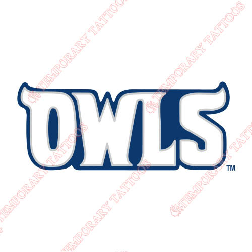 Rice Owls Customize Temporary Tattoos Stickers NO.5989