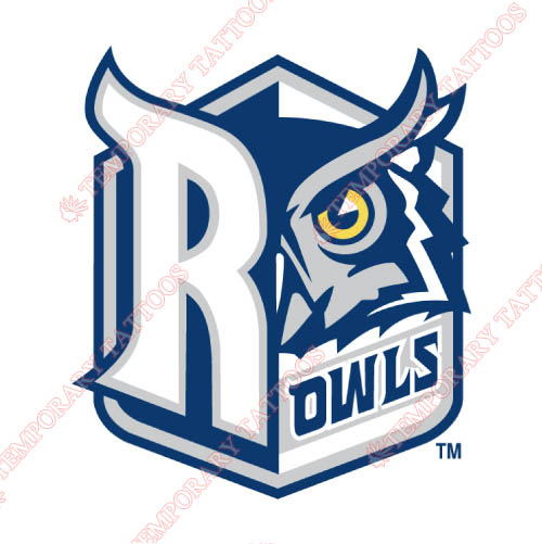 Rice Owls Customize Temporary Tattoos Stickers NO.5990