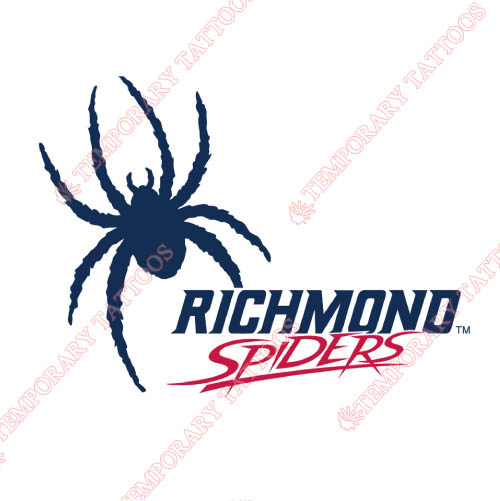 Richmond Spiders Customize Temporary Tattoos Stickers NO.6000