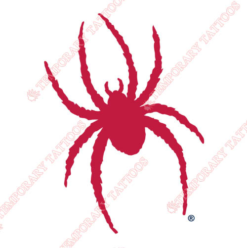 Richmond Spiders Customize Temporary Tattoos Stickers NO.6002