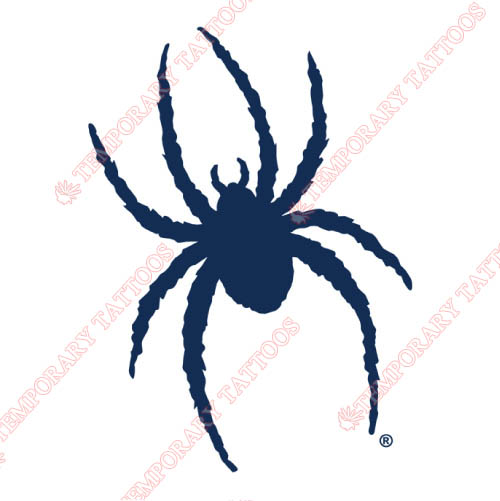 Richmond Spiders Customize Temporary Tattoos Stickers NO.6003