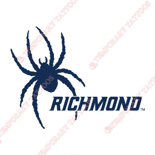 Richmond Spiders Customize Temporary Tattoos Stickers NO.6004