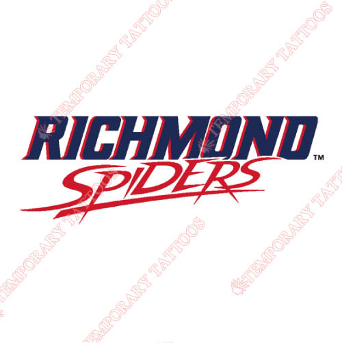 Richmond Spiders Customize Temporary Tattoos Stickers NO.6005