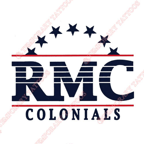 Robert Morris Colonials Customize Temporary Tattoos Stickers NO.6022