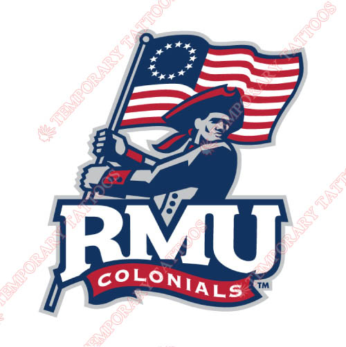 Robert Morris Colonials Customize Temporary Tattoos Stickers NO.6023