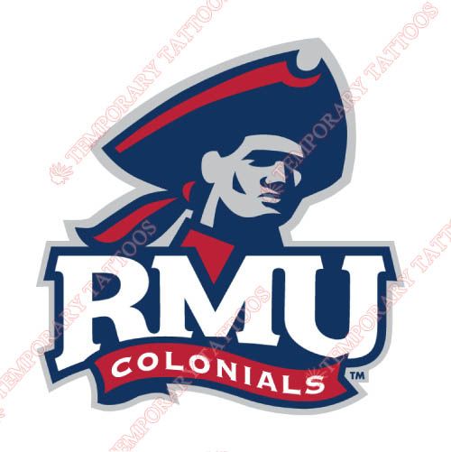 Robert Morris Colonials Customize Temporary Tattoos Stickers NO.6024