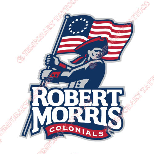 Robert Morris Colonials Customize Temporary Tattoos Stickers NO.6025