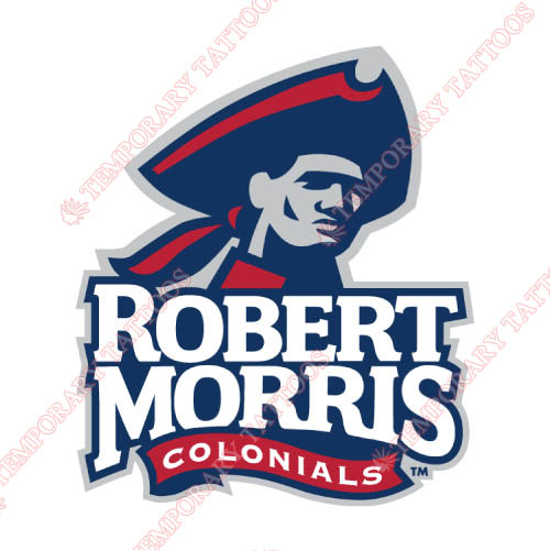 Robert Morris Colonials Customize Temporary Tattoos Stickers NO.6026