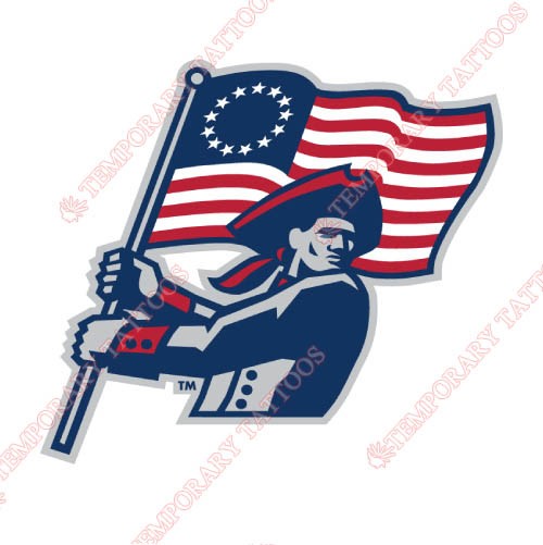 Robert Morris Colonials Customize Temporary Tattoos Stickers NO.6029