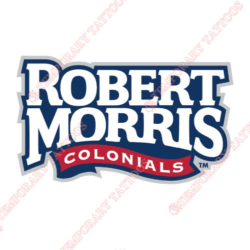 Robert Morris Colonials Customize Temporary Tattoos Stickers NO.6031