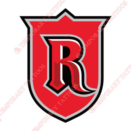 Rutgers Scarlet Knights Customize Temporary Tattoos Stickers NO.6033