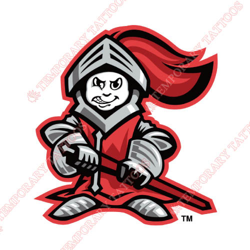 Rutgers Scarlet Knights Customize Temporary Tattoos Stickers NO.6039