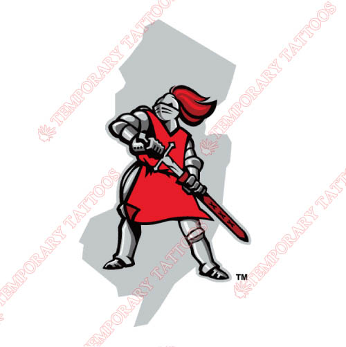 Rutgers Scarlet Knights Customize Temporary Tattoos Stickers NO.6043