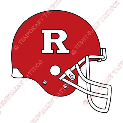 Rutgers Scarlet Knights Customize Temporary Tattoos Stickers NO.6047