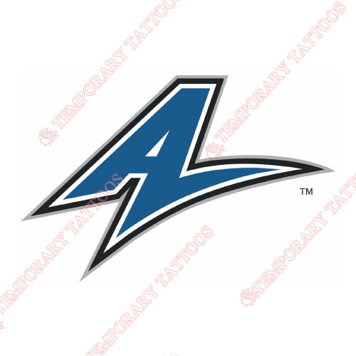 UNC Asheville Bulldogs Customize Temporary Tattoos Stickers NO.6049