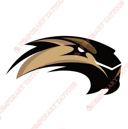 SIU Edwardsville Cougars Customize Temporary Tattoos Stickers NO.6177