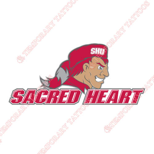 Sacred Heart Pioneers Customize Temporary Tattoos Stickers NO.6057