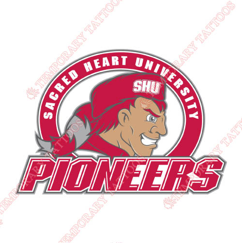 Sacred Heart Pioneers Customize Temporary Tattoos Stickers NO.6061