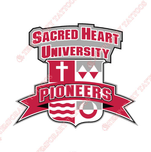 Sacred Heart Pioneers Customize Temporary Tattoos Stickers NO.6063