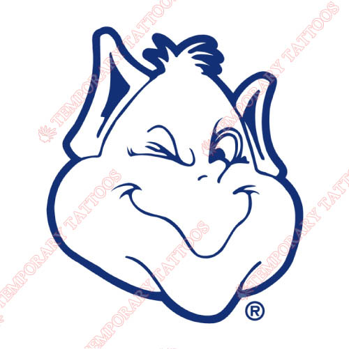 Saint Louis Billikens Customize Temporary Tattoos Stickers NO.6073