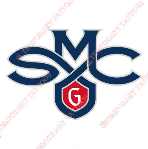 Saint Marys Gaels Customize Temporary Tattoos Stickers NO.6077