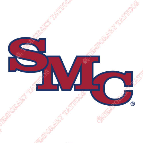 Saint Marys Gaels Customize Temporary Tattoos Stickers NO.6080