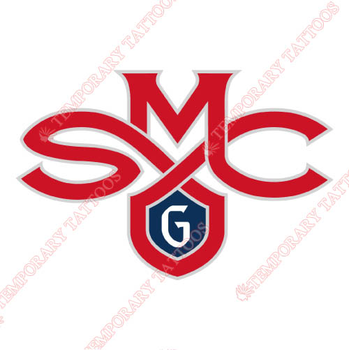 Saint Marys Gaels Customize Temporary Tattoos Stickers NO.6081