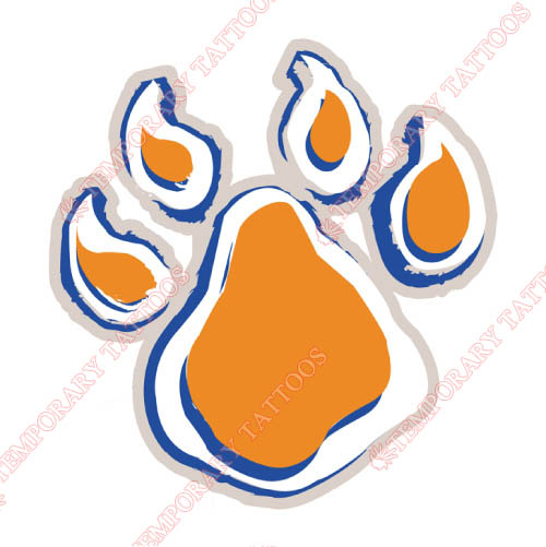Sam Houston State Bearkats Customize Temporary Tattoos Stickers NO.6083