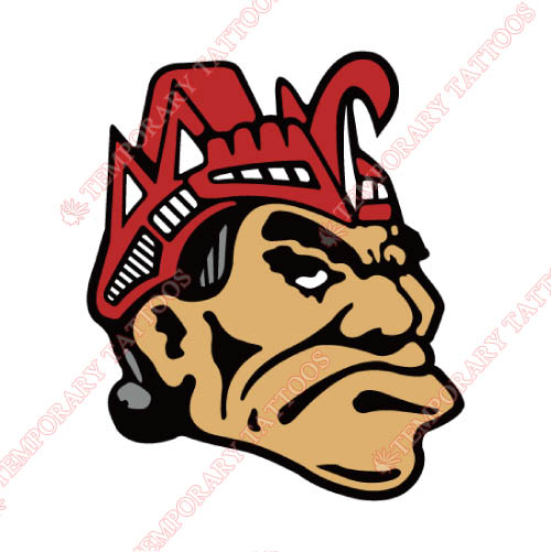 San Diego State Aztecs Customize Temporary Tattoos Stickers NO.6095