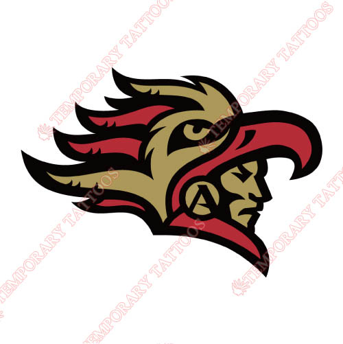 San Diego State Aztecs Customize Temporary Tattoos Stickers NO.6099