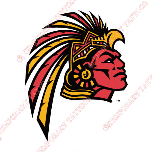 San Diego State Aztecs Customize Temporary Tattoos Stickers NO.6101