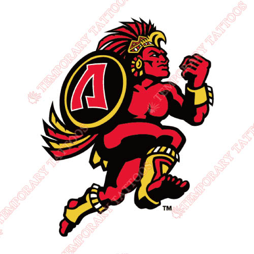 San Diego State Aztecs Customize Temporary Tattoos Stickers NO.6109