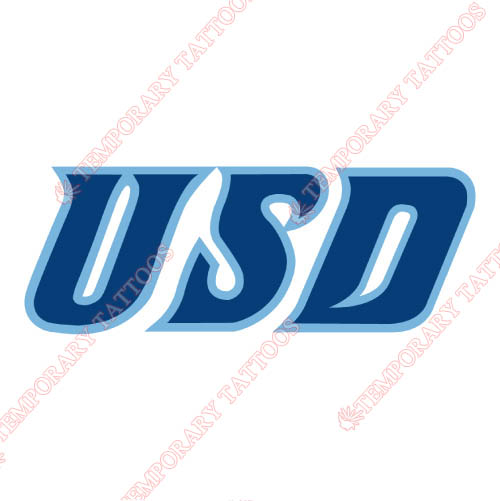 San Diego Toreros Customize Temporary Tattoos Stickers NO.6114
