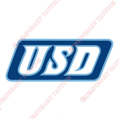 San Diego Toreros Customize Temporary Tattoos Stickers NO.6115