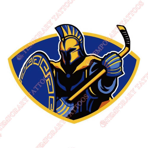 San Jose State Spartans Customize Temporary Tattoos Stickers NO.6128
