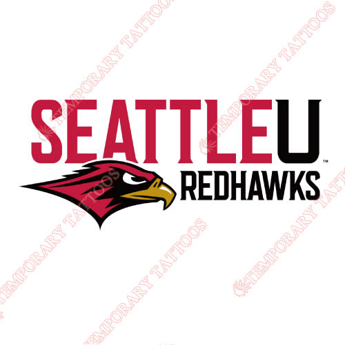 Seattle Redhawks Customize Temporary Tattoos Stickers NO.6155