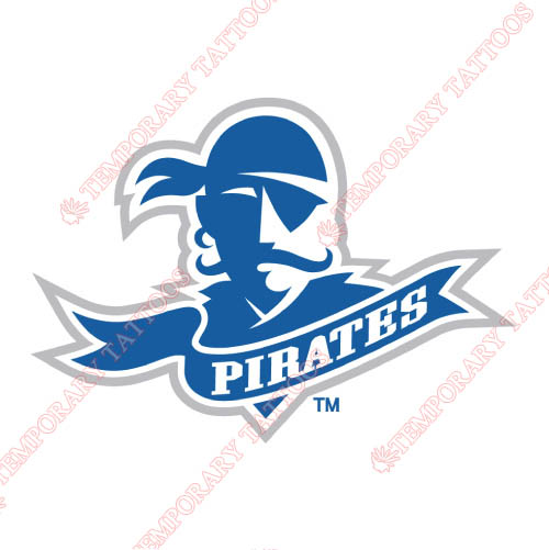 Seton Hall Pirates Customize Temporary Tattoos Stickers NO.6167