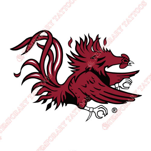 South Carolina Gamecocks Customize Temporary Tattoos Stickers NO.6196