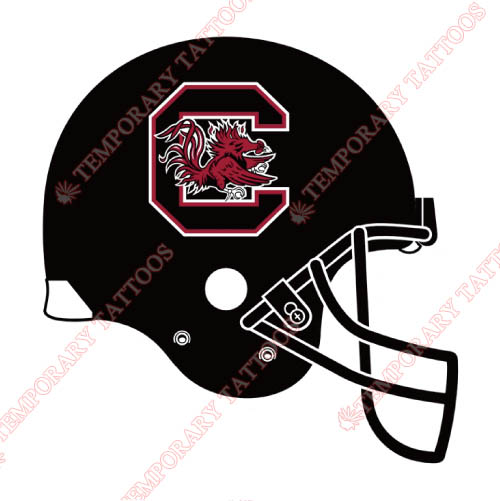 South Carolina Gamecocks Customize Temporary Tattoos Stickers NO.6200