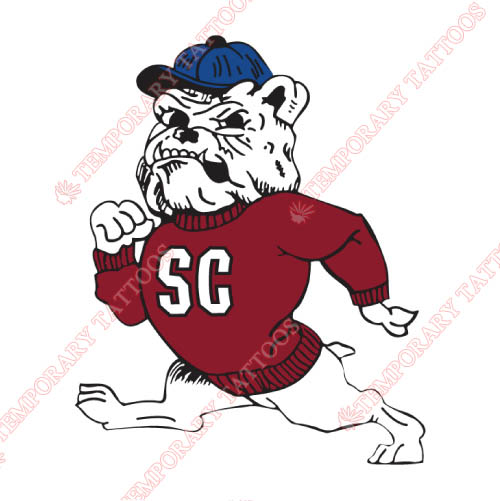 South Carolina State Bulldogs Customize Temporary Tattoos Stickers NO.6201