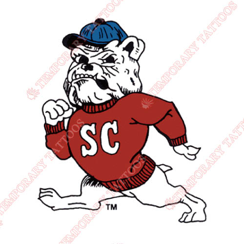 South Carolina State Bulldogs Customize Temporary Tattoos Stickers NO.6204