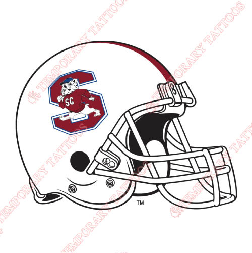 South Carolina State Bulldogs Customize Temporary Tattoos Stickers NO.6205
