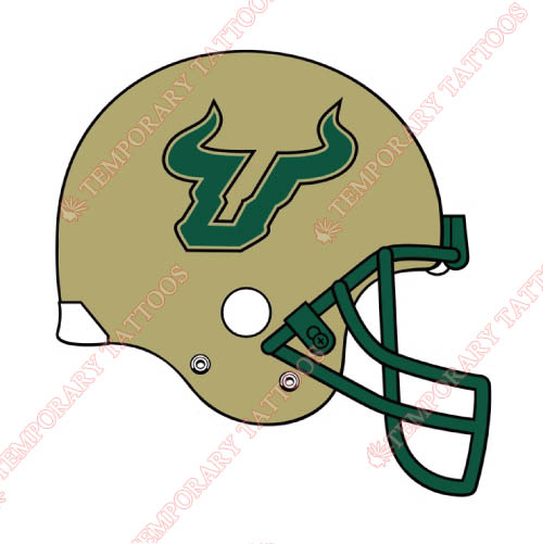 South Florida Bulls Customize Temporary Tattoos Stickers NO.6245