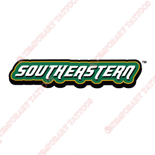 Southeastern Louisiana Lions Customize Temporary Tattoos Stickers NO.6248