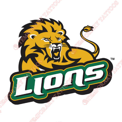 Southeastern Louisiana Lions Customize Temporary Tattoos Stickers NO.6250