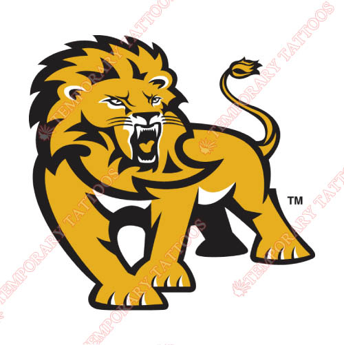 Southeastern Louisiana Lions Customize Temporary Tattoos Stickers NO.6251