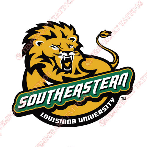 Southeastern Louisiana Lions Customize Temporary Tattoos Stickers NO.6253
