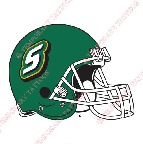 Southeastern Louisiana Lions Customize Temporary Tattoos Stickers NO.6254