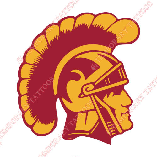 Southern California Trojans Customize Temporary Tattoos Stickers NO.6255